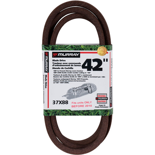 Murray 42 inch Cut Riding Mower Blade Drive Belt 1989 to 2010