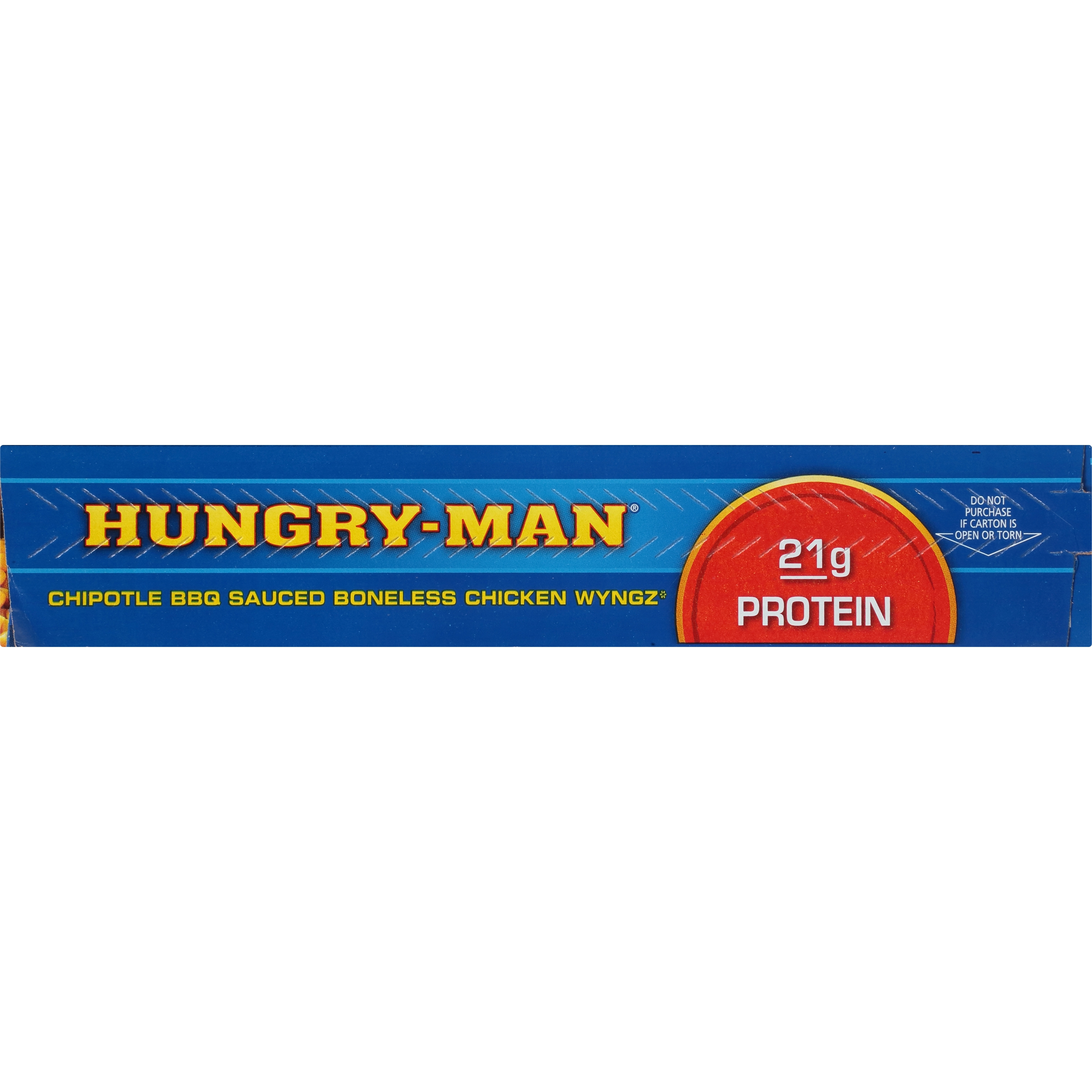 Hungry-Man Limited Edition Chipotle BBQ Sauced Boneless Chicken ...