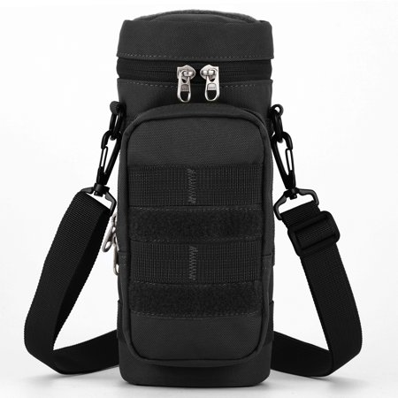 - Gonex Tactical Molle Water Bottle Pouch H2O Hydration Carrier with Accessory Pouch