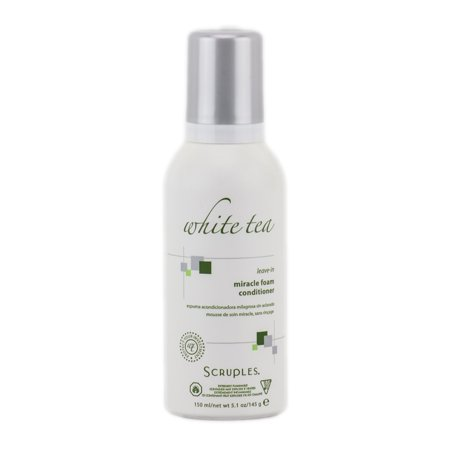 Scruples White Tea Leave-In Miracle Foam Conditioner - Size : 5.1 -