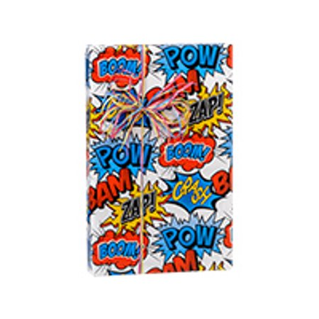 Super Hero Birthday / Special Occasion Gift Wrap Wrapping (Special Occasion Gift Wrap)