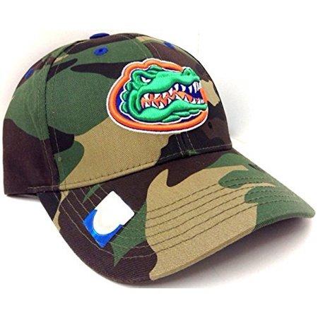 Solid Woodland Camo Florida Gators Camouflage Hat Cap
