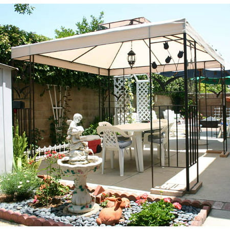 Garden Winds Replacement Canopy Top For Big Lots Tulip Gazebo   Riplock 350