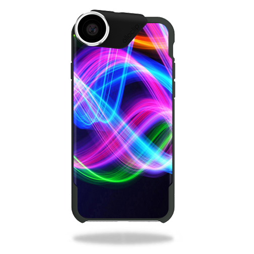 MightySkins Protective Vinyl Skin Decal for olloCase iPhone 6 wrap cover sticker skins Light Waves