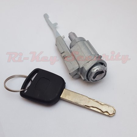 Ignition Switch Cylinder Lock For Honda Accord 03-12 W Transponder Chip Key HO03