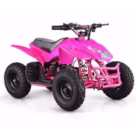 Titan 24V 350W Electric Quad Battery-Powered MINI ATV, Pink