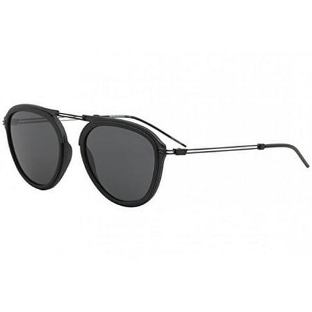 87db7baaf9f4 Emporio Armani sunglasses (EA-2056 300187) Matt Black - Grey lenses -  Walmart.com