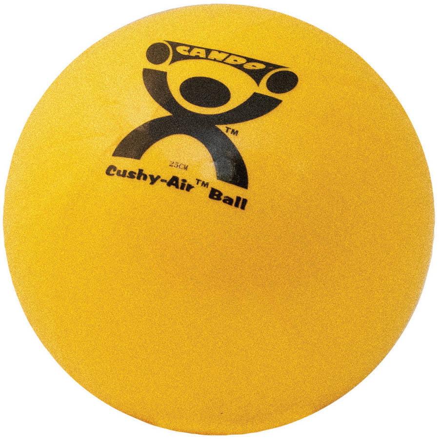 CanDo Cushy Air Ball, Yellow