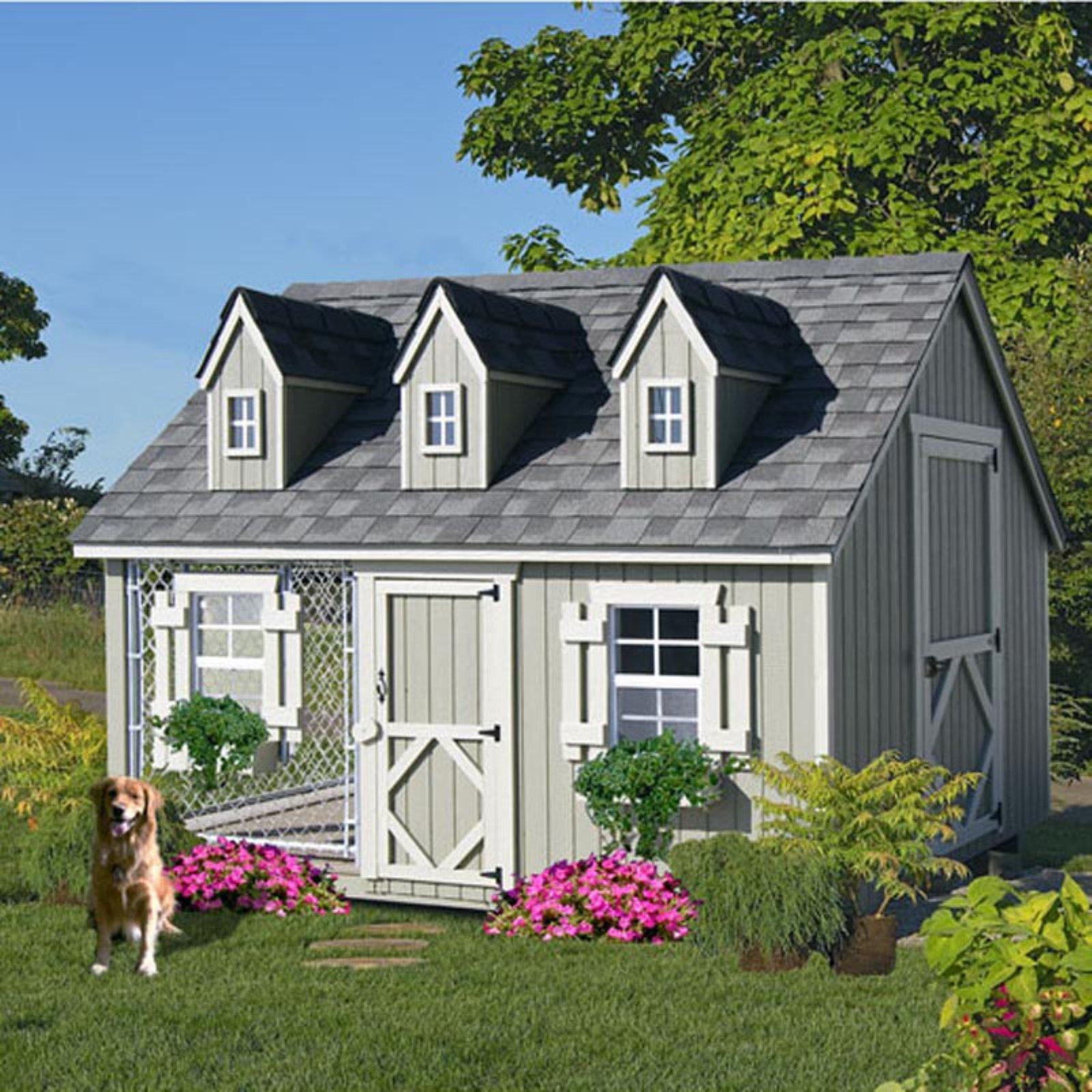 Little Cottage Cape Cod Cozy Cottage Kennel Dog House