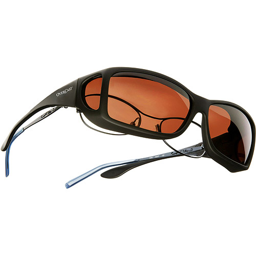 OveRxCast Sunglasses, Black-ML-Copper