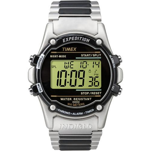 Timex Men's Atlantis T77517 Digital Stainless-Steel Quartz Watch
