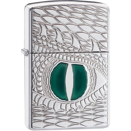 Zippo Armor 28807 High Polish Chrome Dragon Eye Lighter