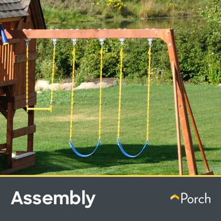 Playset Assembly Up To 2 Towers By Porch Home Services Walmart Com