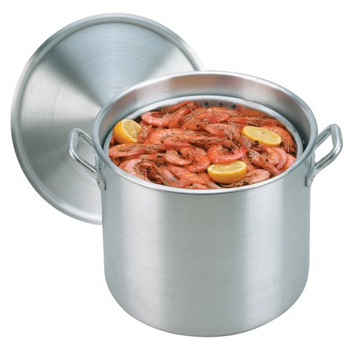 KING KOOKER Model# KK60-60qt. Alminum Boiling Pot with Lid and Basket