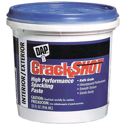 Dap 12378 1qtPail High Performance Spackling Paste