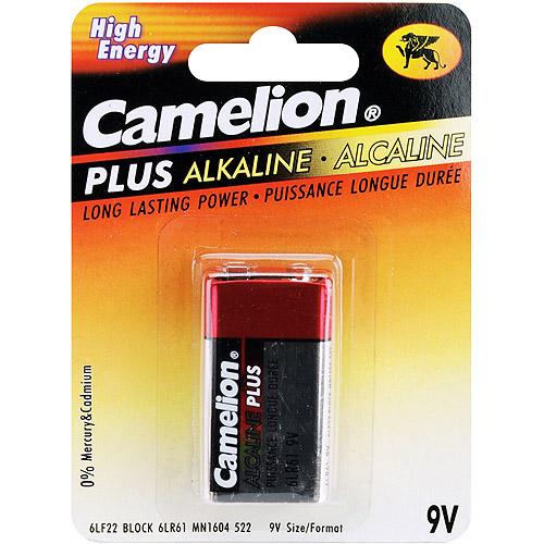 Camelion Alkaline Batteries 1/Pkg-9V