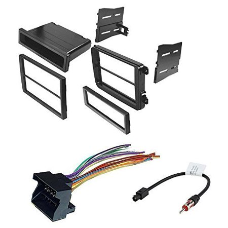 volkswagen 2012 - 2014 beetle car radio stereo cd player dash install mounting kit harness