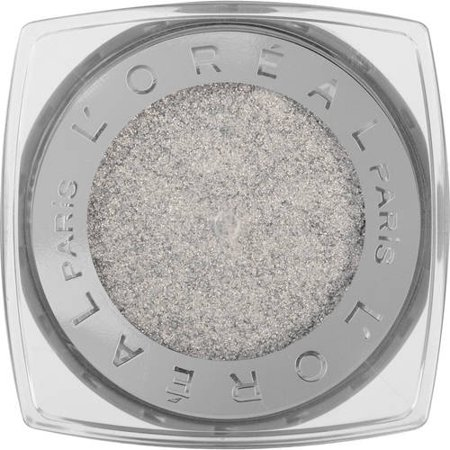 L'Oreal Paris Infallible 24HR Eye Shadow, Silver - Costume Winners