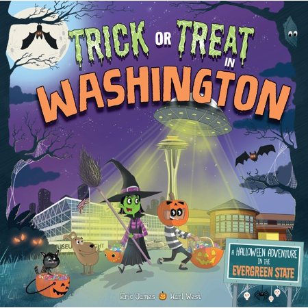 Halloween Washington Post (Trick or Treat in Washington : A Halloween Adventure in the Evergreen)