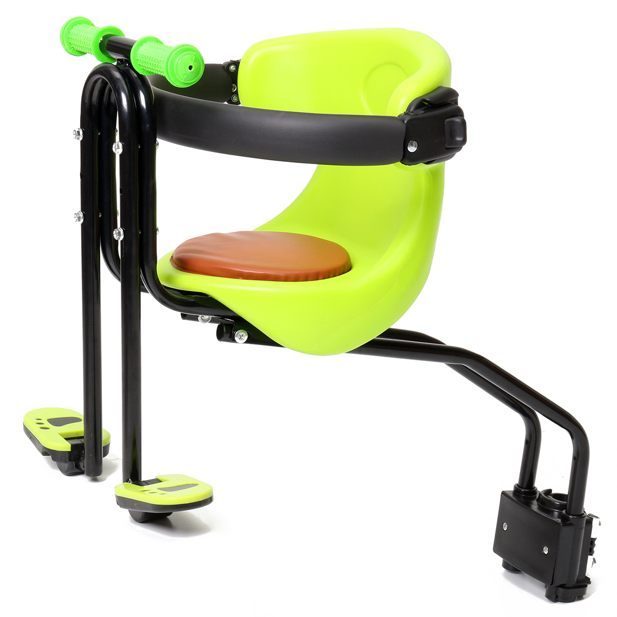 Front Chair Safety Baby Child Kids Bicycle Bike Seat Sport Seats w// Foot Pedals
