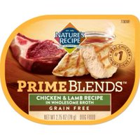 Nature's Recipe Prime Blends, Chicken and Lamb Recipe, Wet Dog Food, 2.75 Ounces