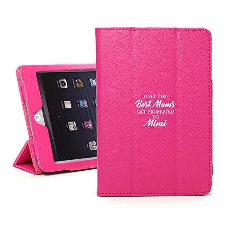 Leather Magnetic Smart Case Cover Stand for Apple iPad The Best Moms Get Promoted to Mimi (for iPad Air 2,