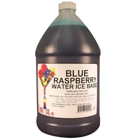 - I.Rice & Company Blue Raspberry Water Ice Base, 1 gal. Can | 1 Each