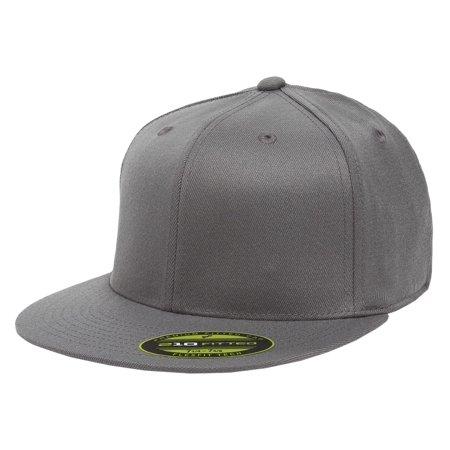 5dcb91e99 The Hat Pros Blank Flexfit 6210 Premium Fitted 210 Cap Large/Xlarge - Dark  Grey - Walmart.com