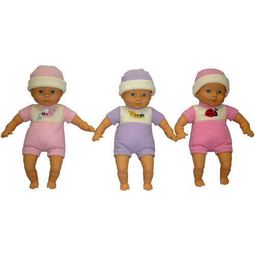 "My Sweet Love 12"" Soft Baby Doll Assortment"