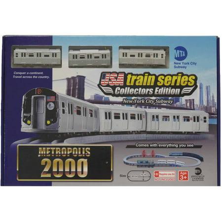 Lec Usa 2000 Mta New York City Subway Battery Operated Train Set