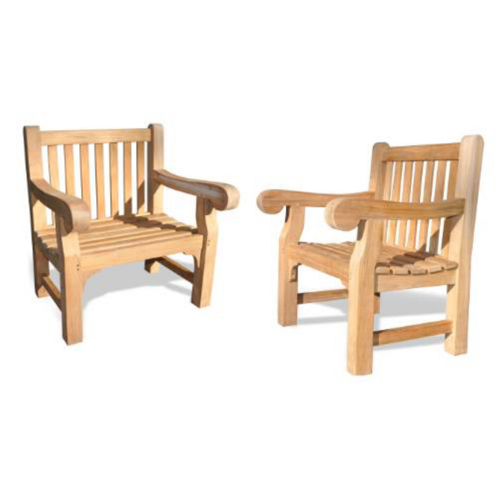 Regal Teak Hyde Park Lounge Chair - Set of 2