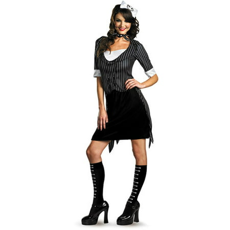 Jack Skellington Sassy Adult Halloween Costume - Halloween Skellington