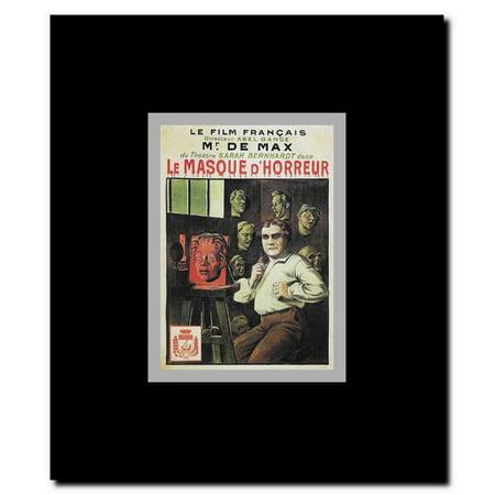 Le Masque d'horreur Framed Movie Poster](Masque Horreur Halloween)