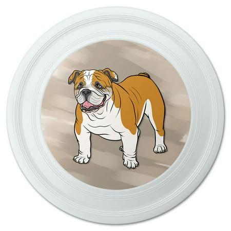 """English Bulldog Pet Dog Novelty 9"""" Flying Disc"""