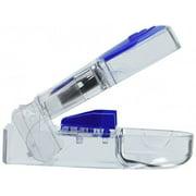 Apex Ultra Pill Splitter, Ergonomic Pill Splitter with Retracting Blade Guard, for Cutting Medication Tablets in Half