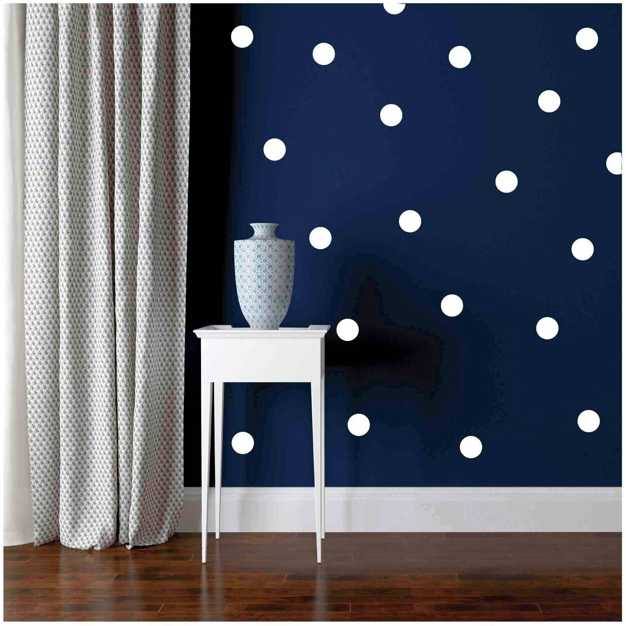 Owl Hills Polka Dot Wall Stickers, 2.5""