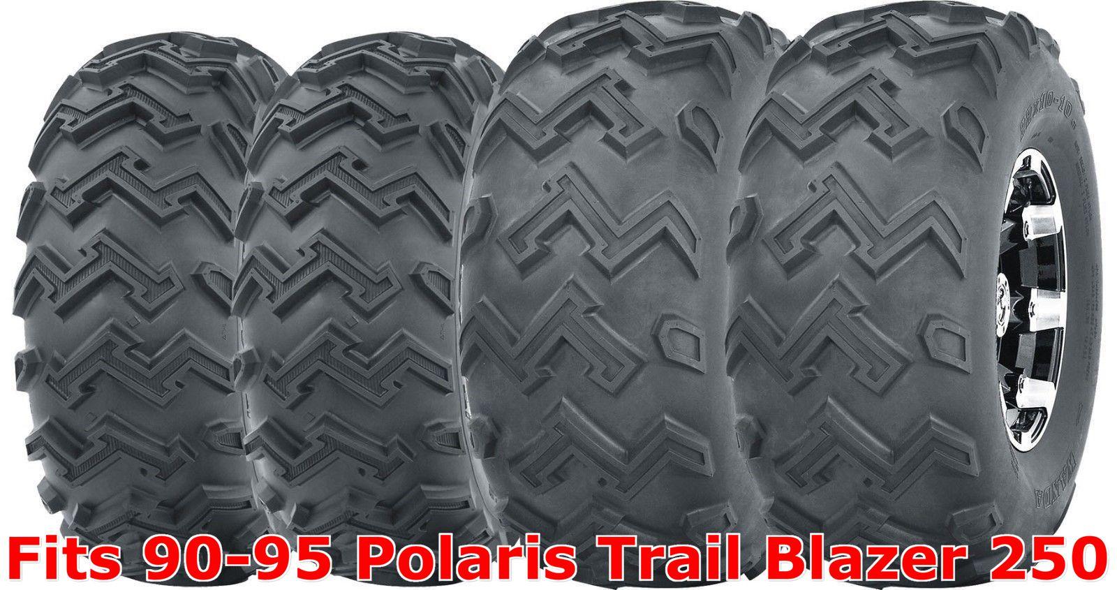 Full set WANDA ATV tires 23x7-10 front /& 22x11-10 rear 94-98 Polaris Sport 400L