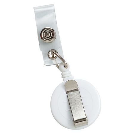 BRADY 95073 WHITE BADGE HOLDER ()