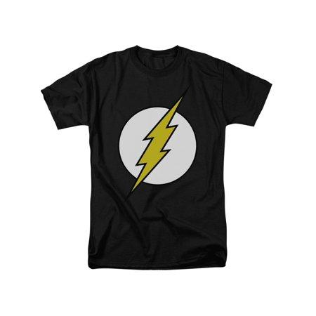 Classic Adult Comics (DC Comics Flash Classic Bolt Logo Adult T-Shirt)