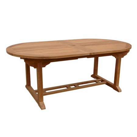 Anderson Teak Double Extension Outdoor Dining Table