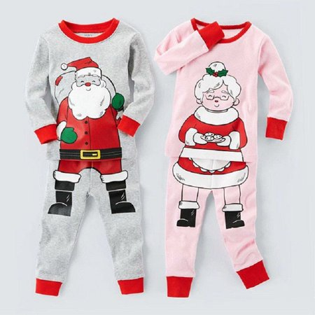 Buy Santa Claus (Christmas Baby Kids Boys Girls Santa Claus Sleepwear Nightwear Pajamas Set)