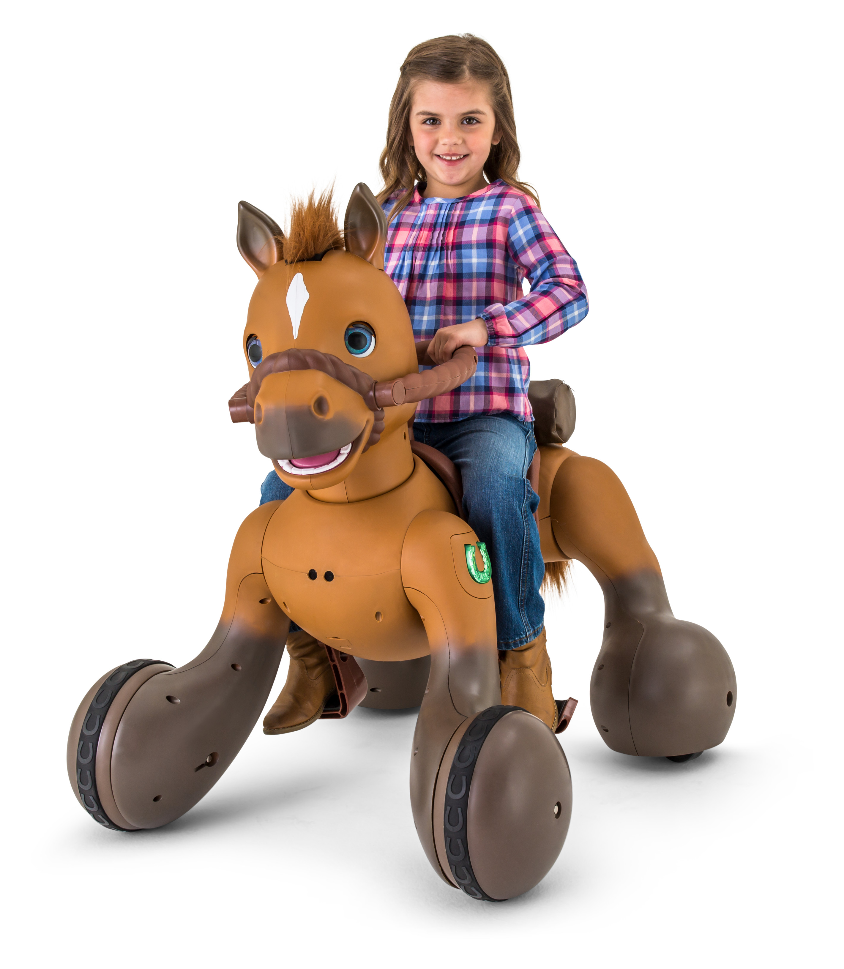 12-Volt Rideamals Scout Pony Interactive Ride-On Toy by Kid Trax by Pacific Cycle