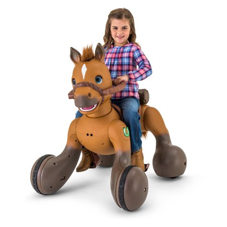 12-Volt Rideamals Scout Pony Interactive Ride-On Toy by Kid Trax - Cheap Kid Toys