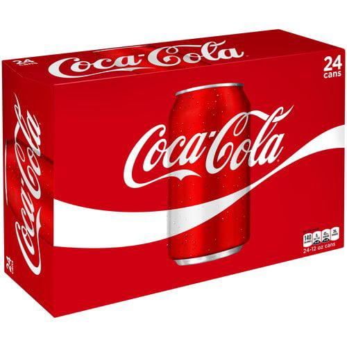 Coca-Cola Soda, 12 Fl. Oz., 24 Count