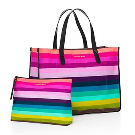 Tote Carry All Rainbow Bag Overnight Weekender Free