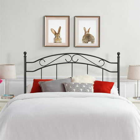 Mainstays Full/Queen Metal Headboard, Multiple (Border Queen Headboard)