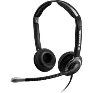 Sennheiser CC 550 IP Binaural Headset with Ultra Noise Canceling Microphone
