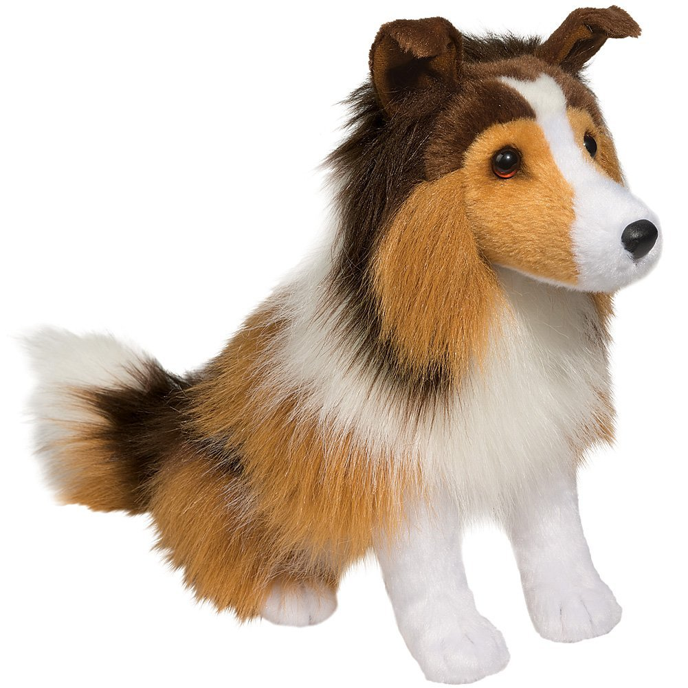 Lassie Heroic Celebrity Dog Character 12 Inch Replica Stuffed Animal