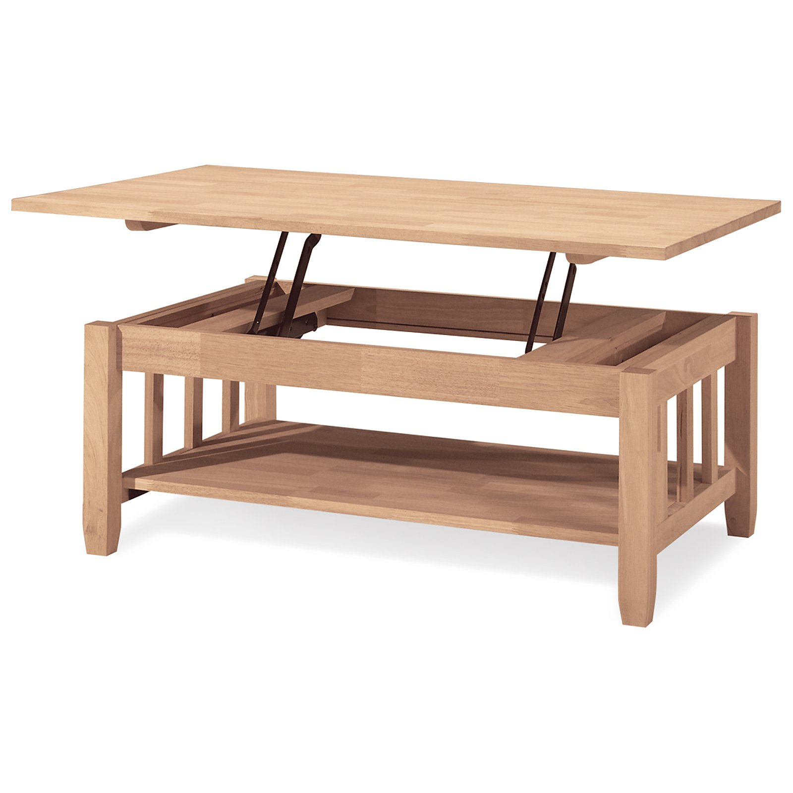 concepts mission solid wood lift top coffee table walmartcom