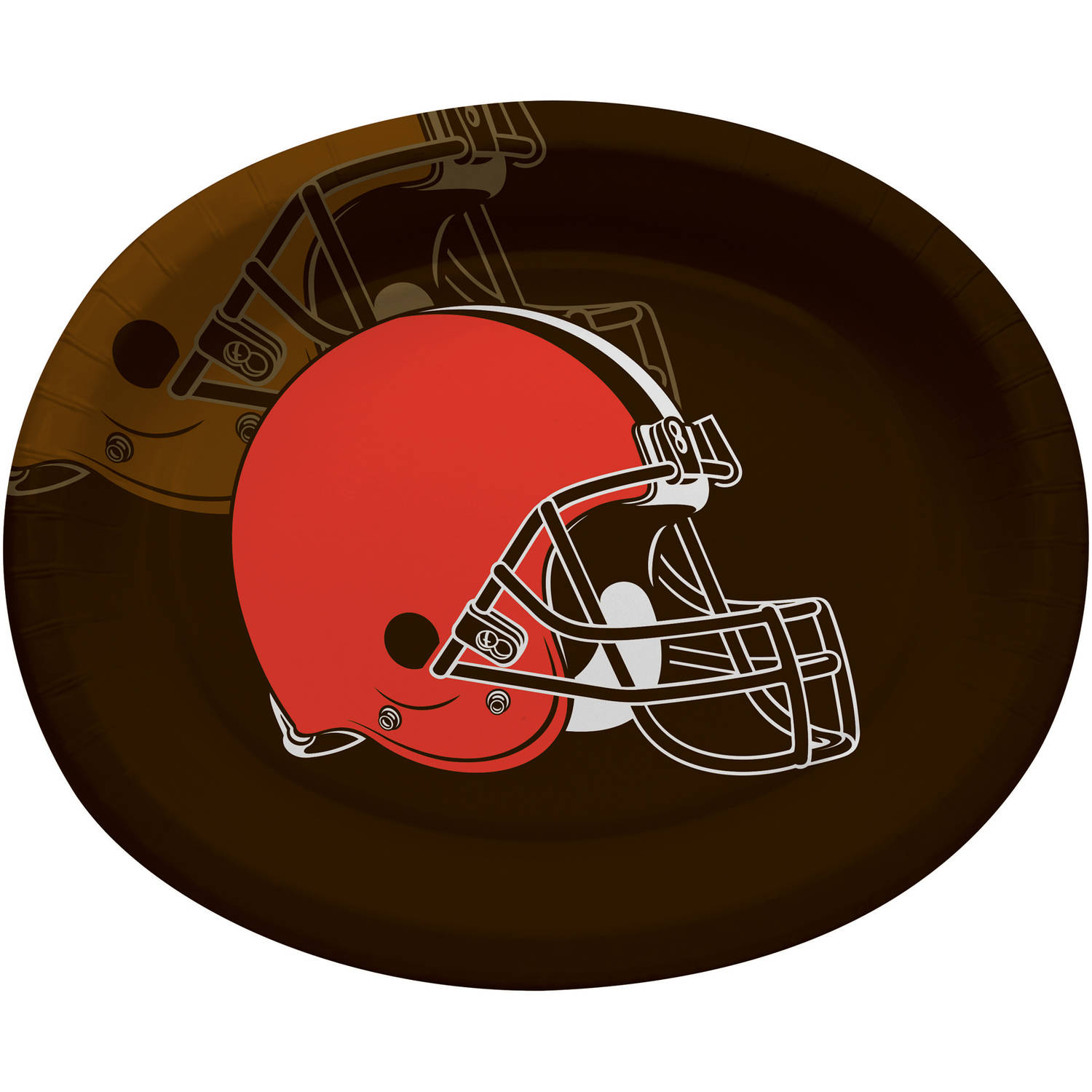 Cleveland Browns Oval Platters, 8-Pack